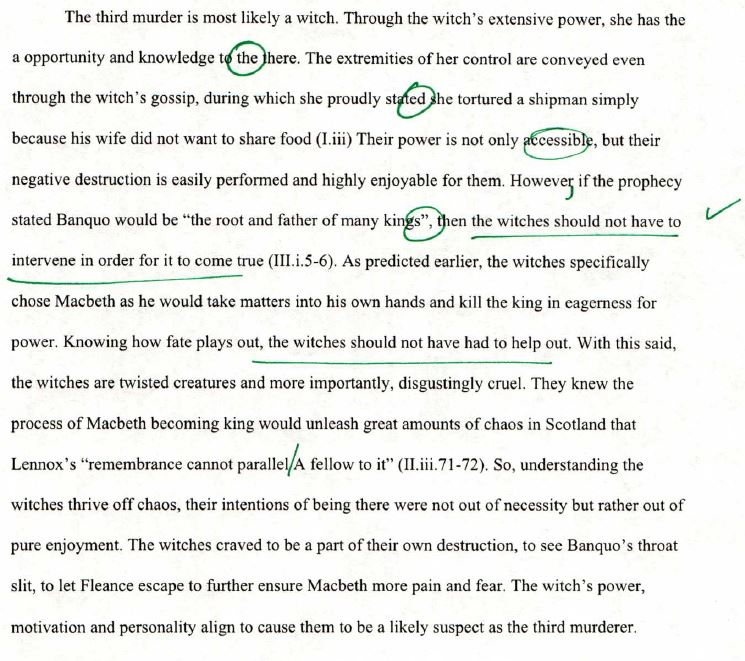 third murderer macbeth essay The third murderer in shakespeare's macbeth essay example 879 words 4 pages the third murderer in macbeth although shakespeare had a great flare for plot material, he often had trouble with loose ends many times, seemingly important people will disappear from the script they are never seen again and other.